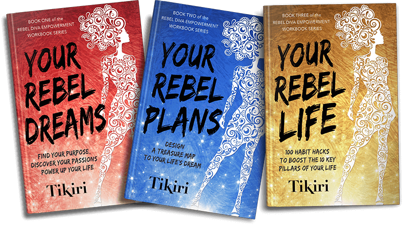Covers from the Rebel Diva Empowerment Workshop Series by Tikiri Herath
